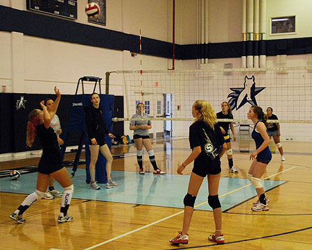 Gallaudet volleyball summer camps in full swing at Texas School for the Deaf