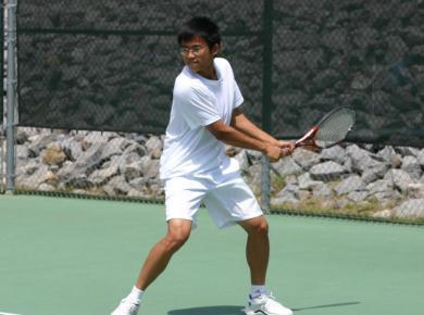 Zhao Named to First Team All-SCAC for Men's Tennis