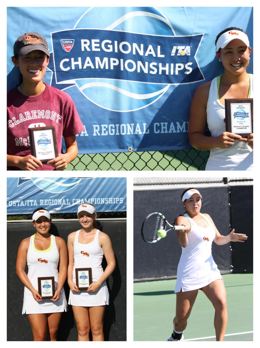Athenas Sweep Singles and Doubles Titles at the USTA/ITA West Regional Championships