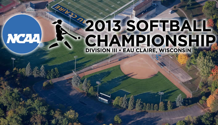 UW-Eau Claire Set to Host 2013 NCAA Division III Softball Championship