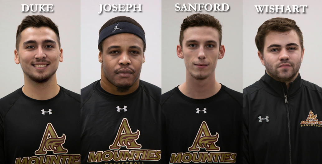 Last home game Saturday for 3 Mountie Grads