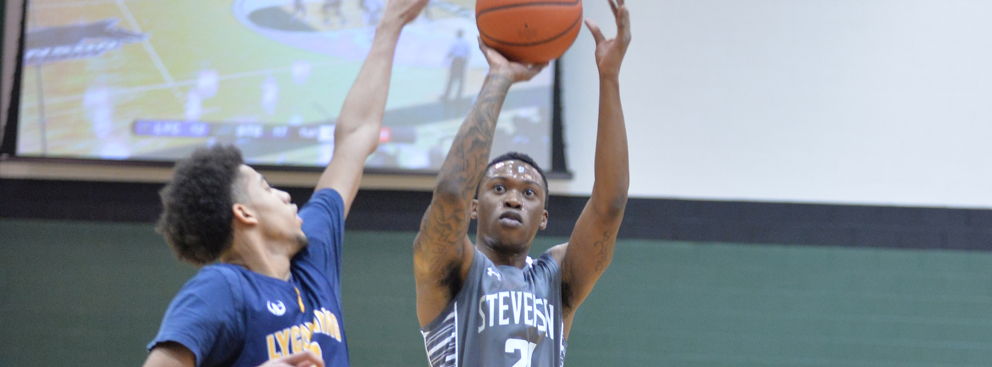 Alvernia Withstands Late Push by Mustangs