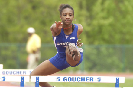 Goucher Produces CAC Champion in 800
