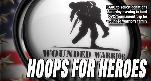 "SAAC ""Hoops for Heroes"" to collect donations at Saturday doubleheader"