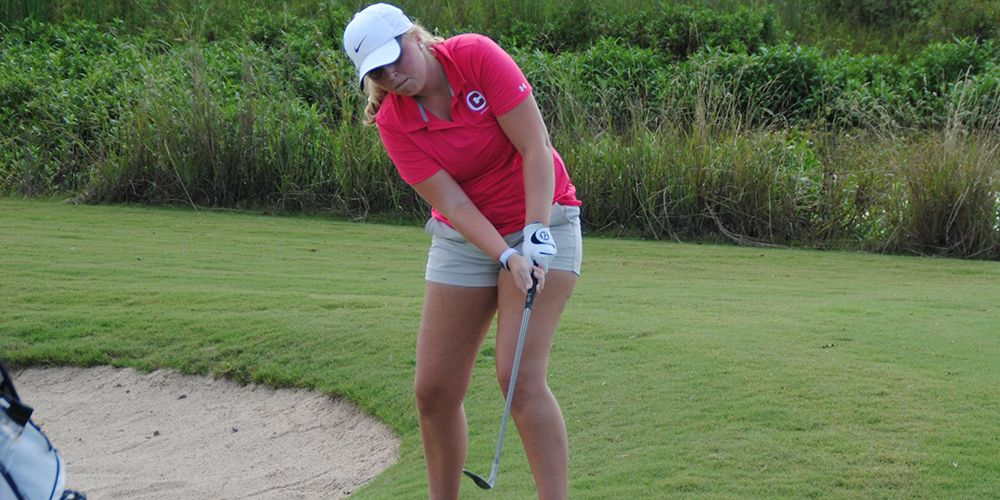 Ladies Golf Sits Ninth After Day 1 in Las Vegas