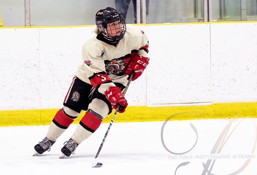 Sydney Hughson had a solid season with the Red Deer Midget AAA Chiefs in 2018-19 and will join the Griffins next fall (Two Point Photography photo).