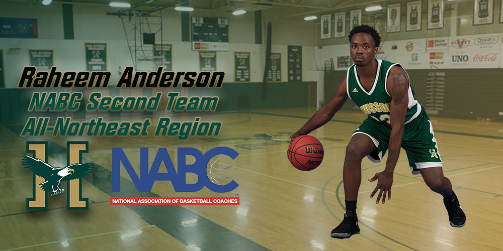 Anderson Named to the 2018 NABC Coaches' Division III All-Northeast Team