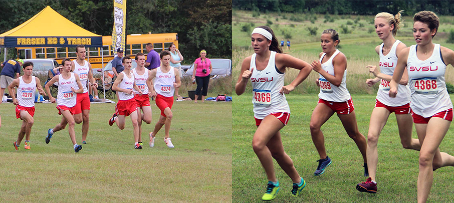 Cross Country Competes Against Hillsdale College