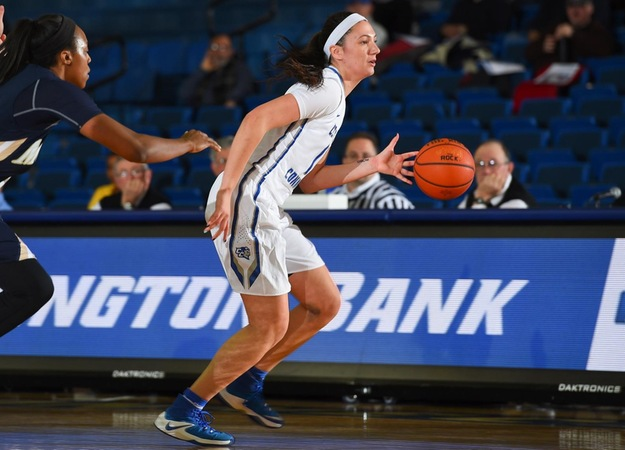 Women's Basketball's Six-Game Win Streak Snapped at St. Francis Saturday, 87-81