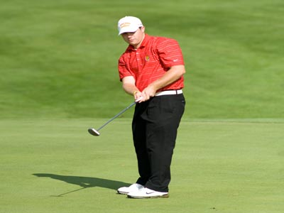Craig Burrows fired a seven-over par 220 in leading Ferris State to the Wayne State Motor City Invitational title.