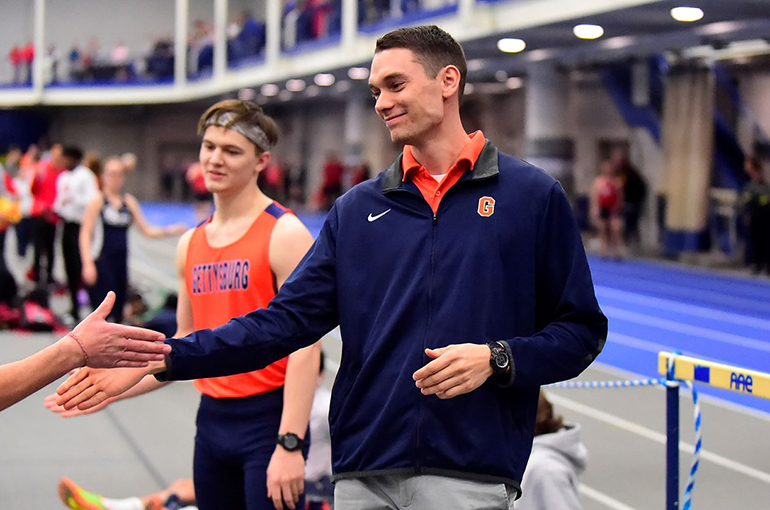 Hartzler Elevated to Gettysburg Cross Country, Track & Field Head Coach