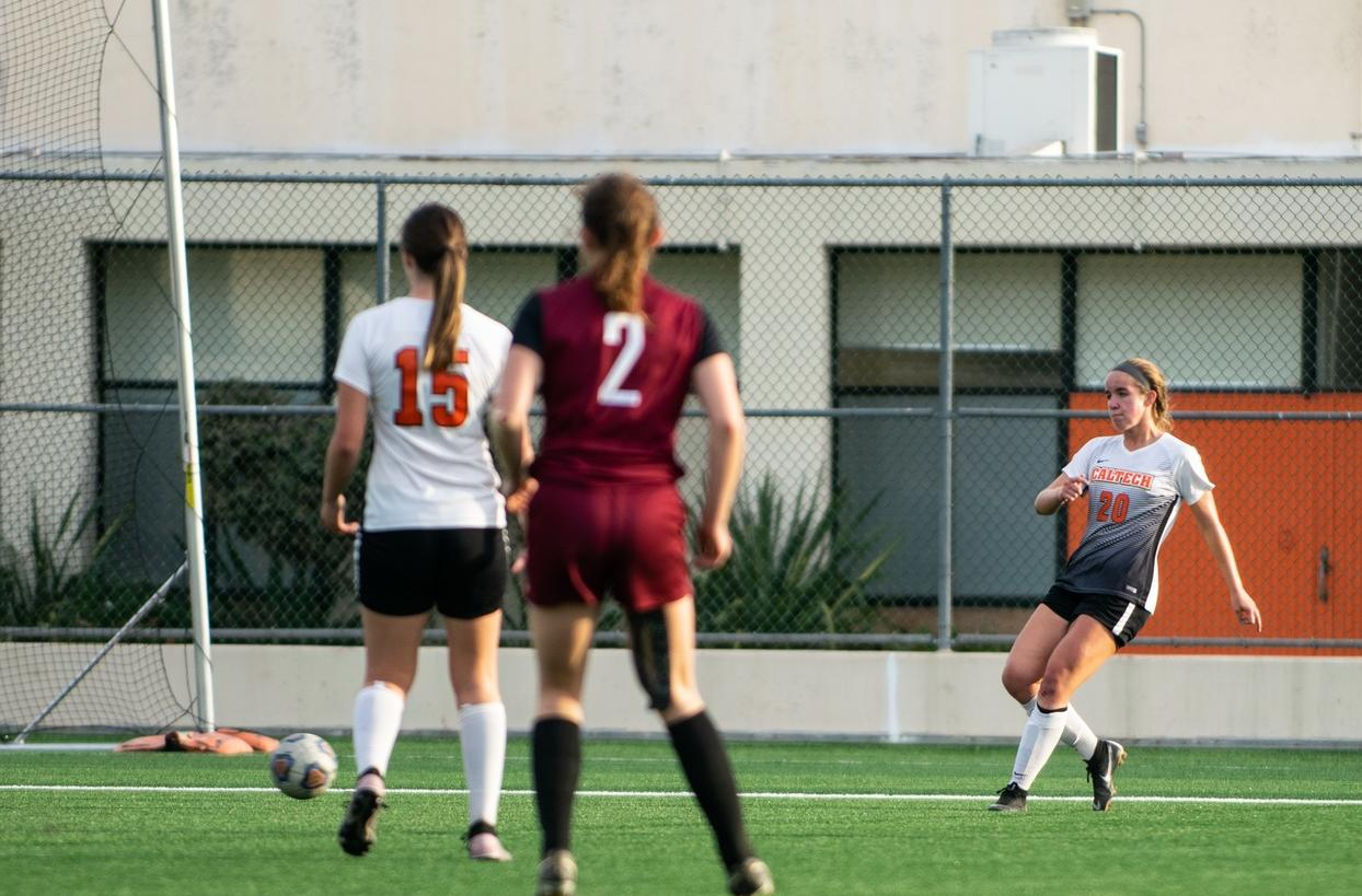 Kauber Scores First-Career Goal at Chapman