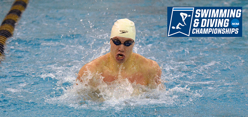Thompson Closes Out Men's Swimming Career at NCAA Championships
