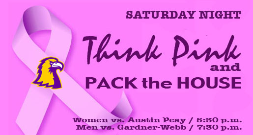 Tech to host Think Pink, Pack The House Night Saturday