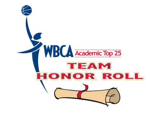Women's Basketball Earns Top-12 Spot in WBCA Academic Team Honor Roll
