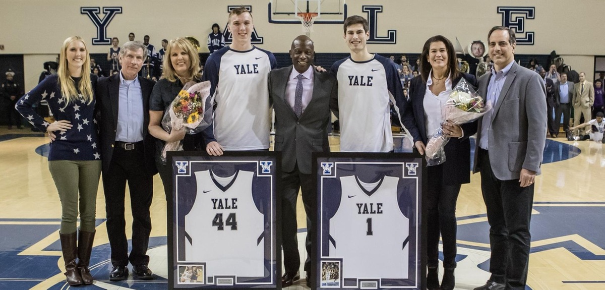 The Downeys and Dalliers enjoyed a winning Senior Night (Steve Musco photo)