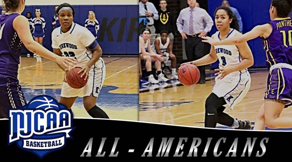 Photo for Goods, Harris earn All-American honors