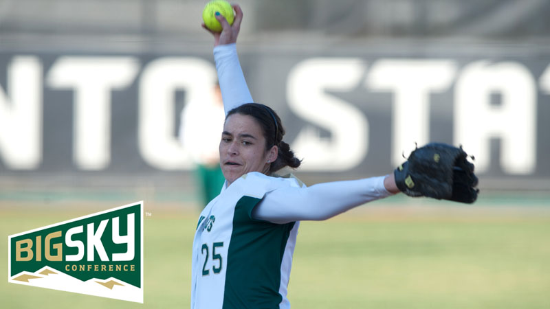 CAITLIN BROOKS NAMED BIG SKY PITCHER OF THE WEEK AGAIN