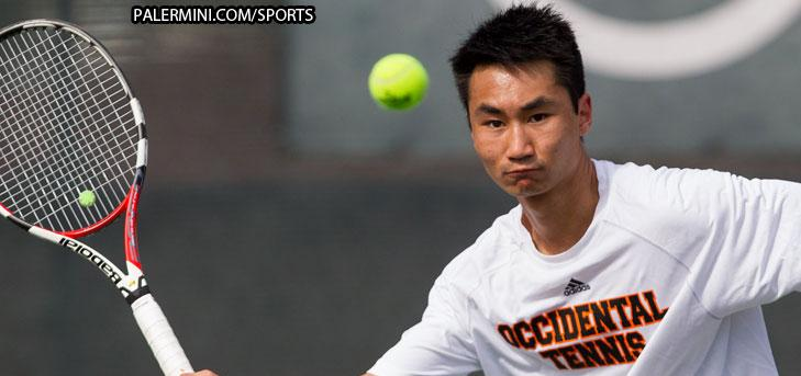 Zhao clinches win at No. 6, Tigers beat Connecticut College