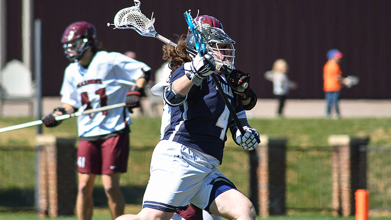 Late Goal Seals Conference Victory for Men's Lacrosse
