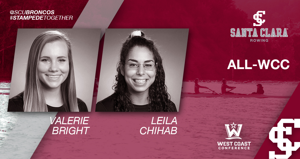 Bright, Chihab Named All-WCC for Second Consecutive Season