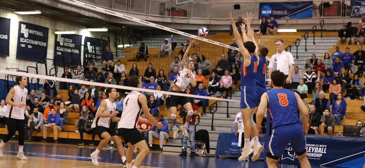 Top-Ranked Men's Volleyball Knocked Off By New Paltz In NCAA Division III Championship Semifinal