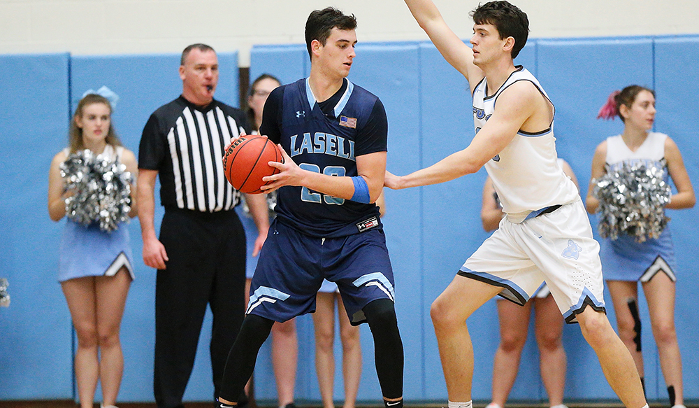 MBK: Lasell upsets Emmanuel in GNAC opener; Day hits game-winner in final seconds