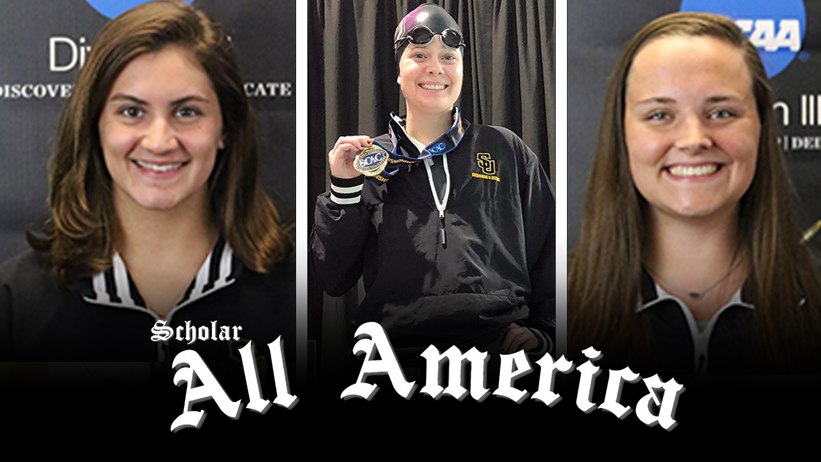Three Pirates Named to CSCAA Scholar All-America Team