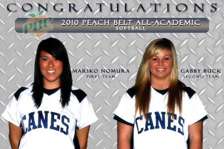 A pair of Lady 'Canes named All-Academic
