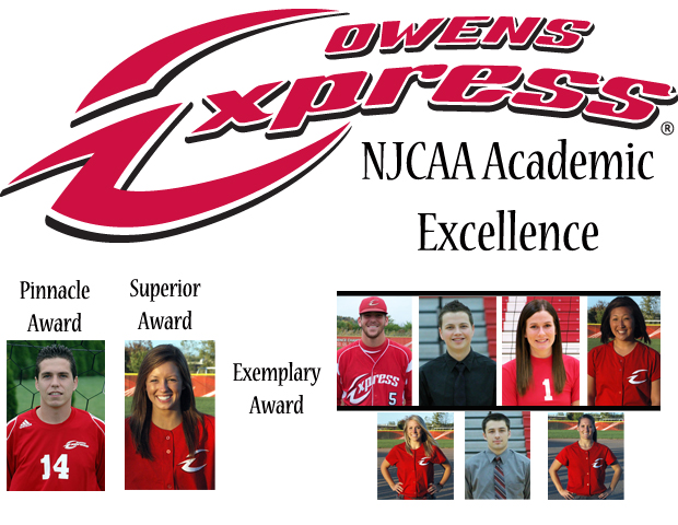 Express Student-Athletes Earn NJCAA Academic Honors