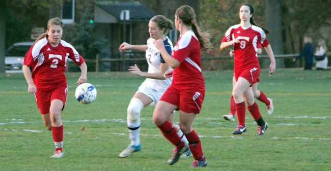 Moravian Women's Soccer - Muhlenberg Video Recap