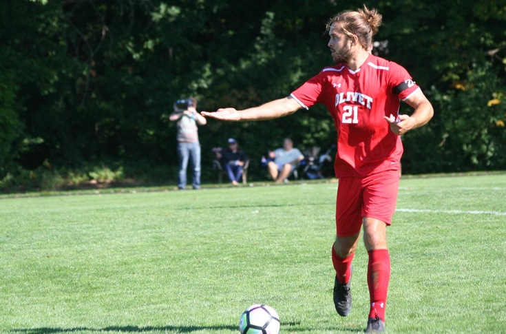 Men's soccer team tripped up by Calvin, 8-0