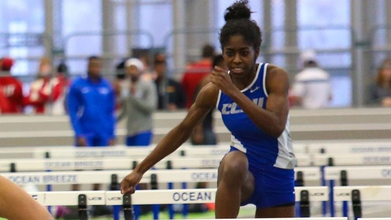 Wolliston Sets CCSU Record for Women's Track & Field at Yale Collegiate Invitational