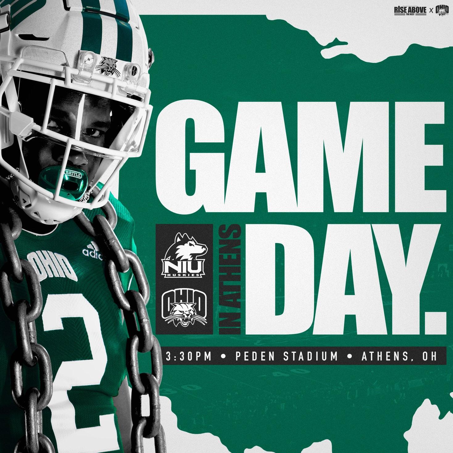 Ohio Football Plays Host To Homecoming Contest Against Northern Illinois This Afternoon
