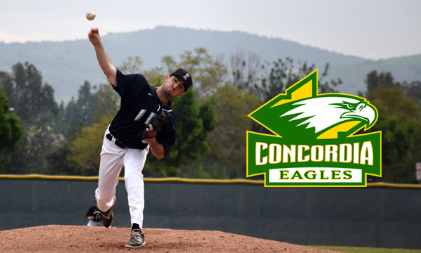 Baseball player Austin Reynolds signs with Concordia