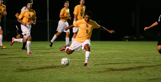 Men's Soccer Squares-Off with Centenary in Opening Round of Post Season