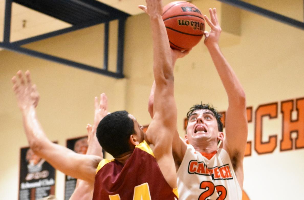 Galliani Heats Up as Caltech Sweeps Whittier