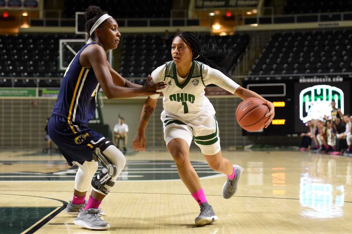 Hooks, Ohio Women's Basketball Holds off Kent State, 79-78