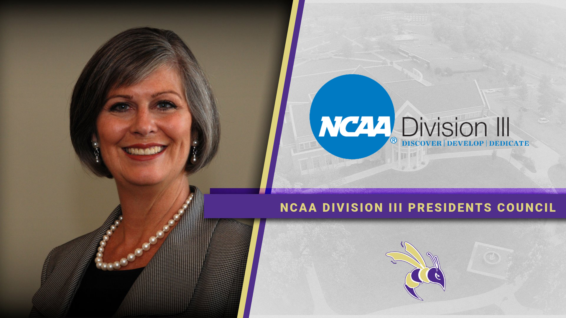 President Mankey Named to NCAA Division III Presidents Council