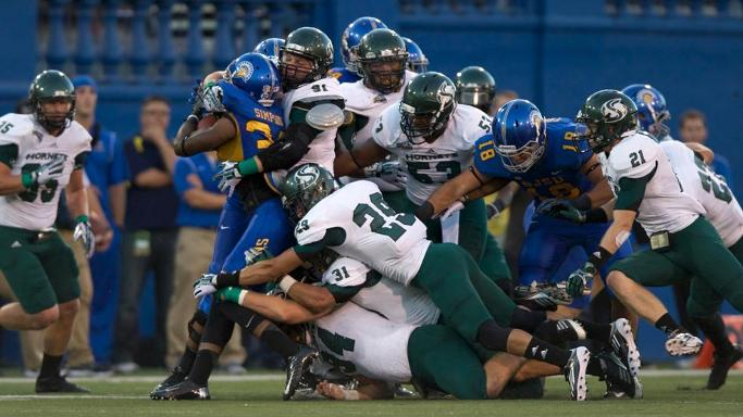FOOTBALL OPENS YEAR WITH LOSS AT SAN JOSE STATE