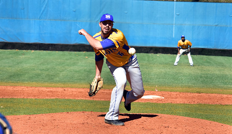Baseball Takes Two From Eagles on Senior Day