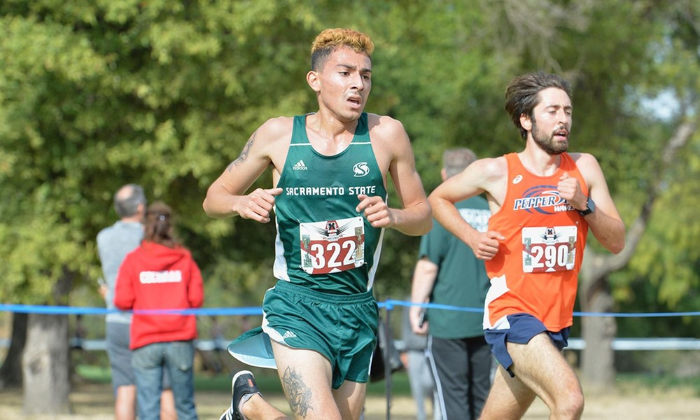 QUINONES, SANDOVAL PACE CROSS COUNTRY AT SANTA CLARA BRONCO INVITATIONAL