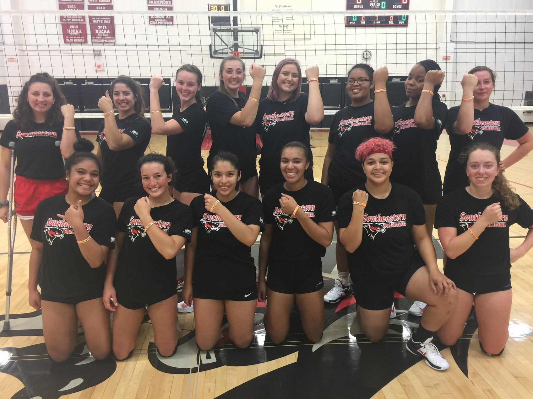 SCC Volleyball Supports one of SCC'S Family Members Diagnosed with Acute Myeloid Leukemia