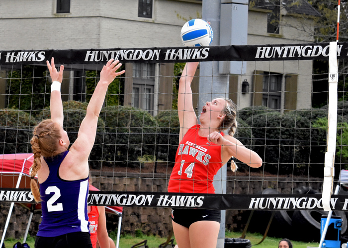 Huntingdon falls to UNA in home opener