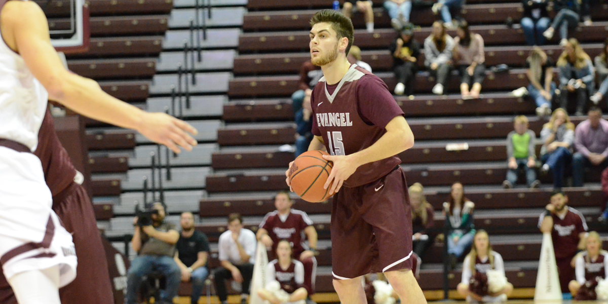 Evangel Men Tipoff Heart Play Wednesday at Graceland