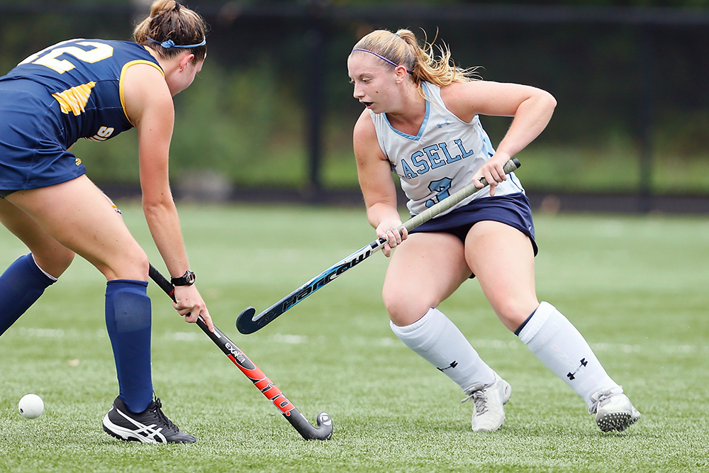 Lasell Field Hockey rolls past Regis; stage is set for GNAC battle at Saint Joseph's (Maine)
