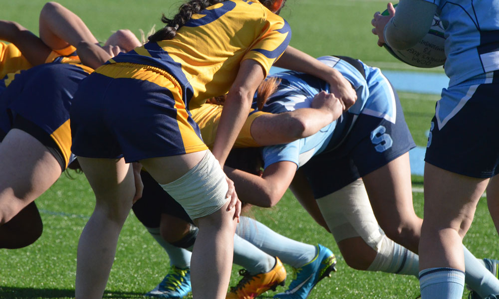 Women's rugby swept in all three games at St. Lawrence