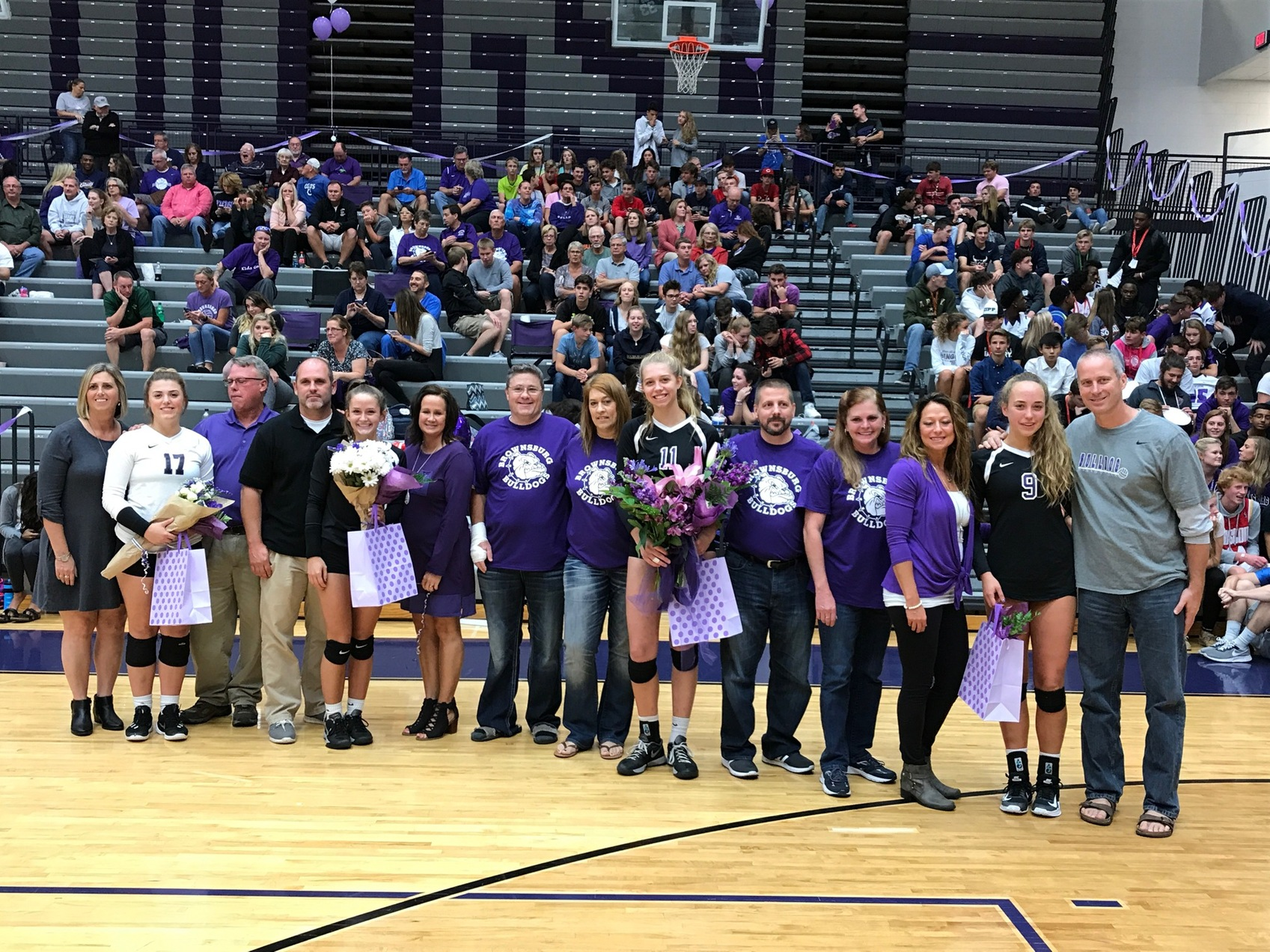 Bulldogs Celebrate Seniors