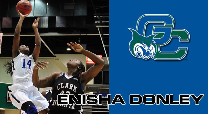 Junior guard Enisha Donley (Loganville, Ga.)