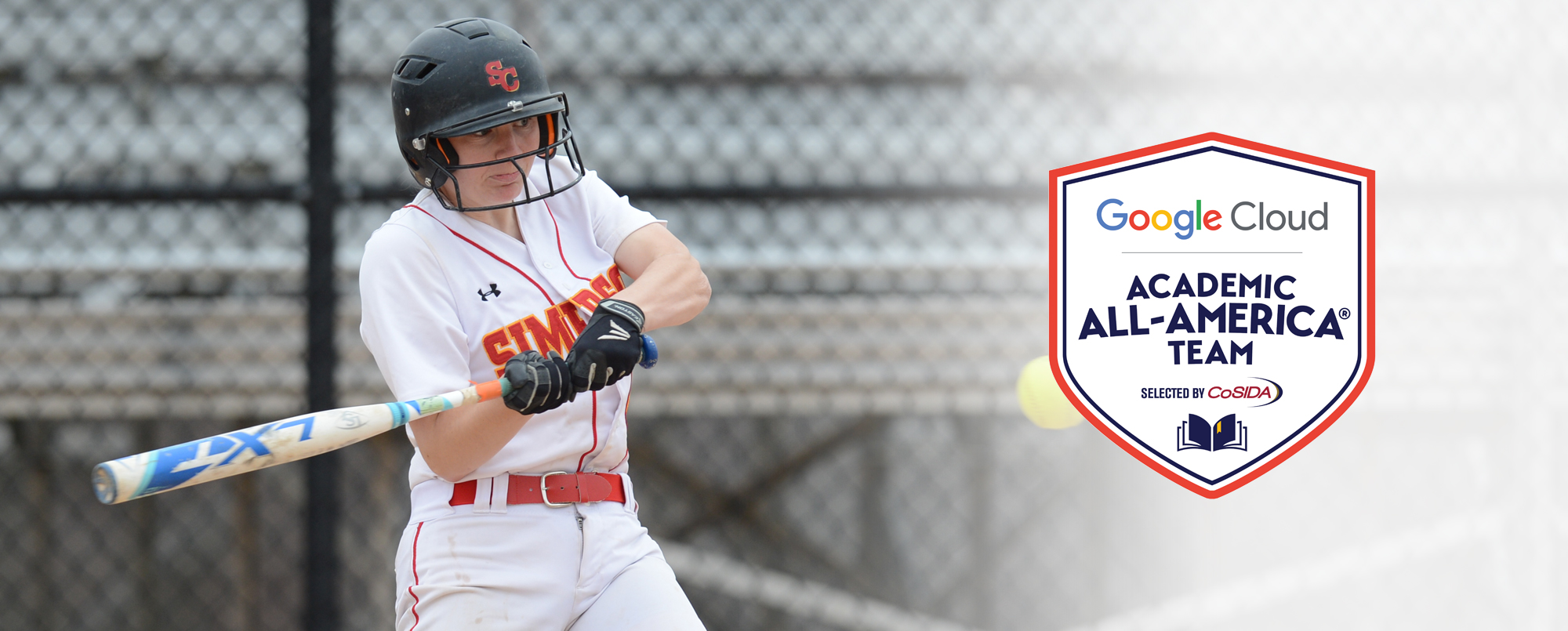 Ashley Allen becomes the fifth Academic All-American in Simpson softball history.